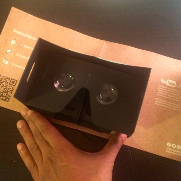 The virtual reality merchandise for Lomar, by Visual Experience, Virtual Reality from Saudi Arabia